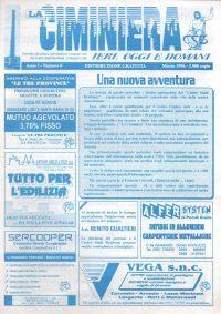 1996 – LA CIMINIERA 0 – ANNO I