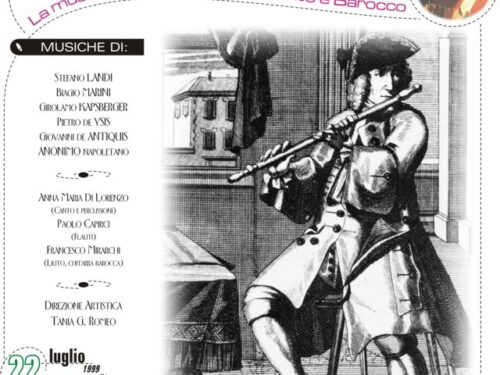 """""""L'amoroso Cantare : La musica in Italia tra Rinascimento e Barocco"""""""